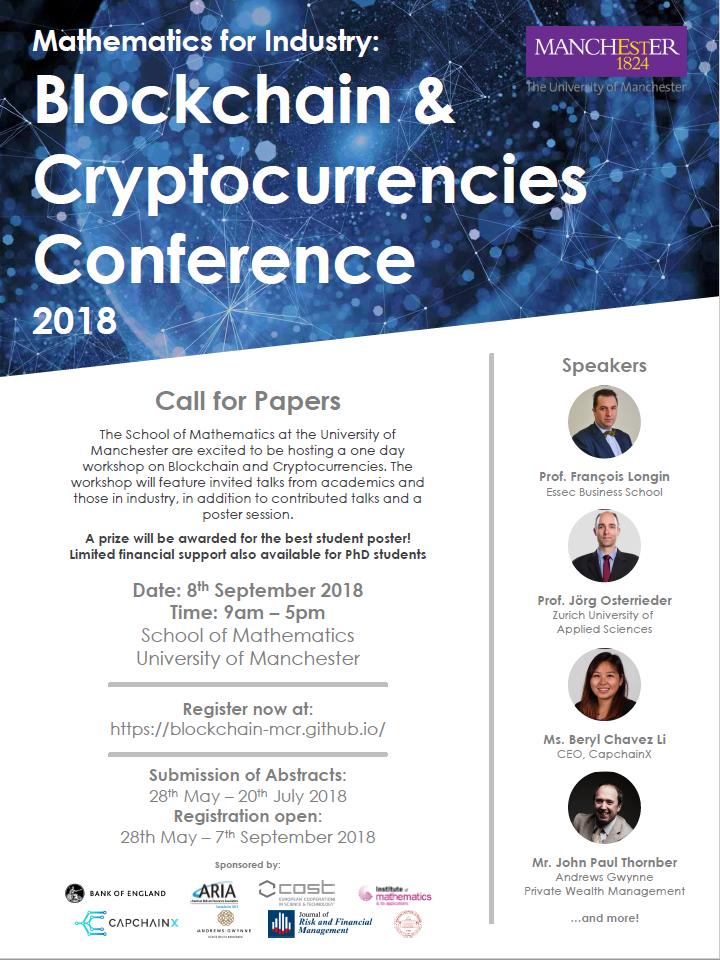 Conference Blockchain Cryptocurrencies